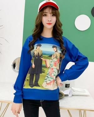 Taehyung Blue Sweater (6)