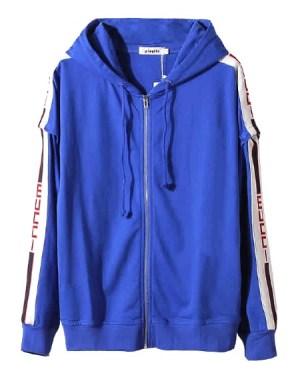 bts-taehyung-blue-zip-hoodie