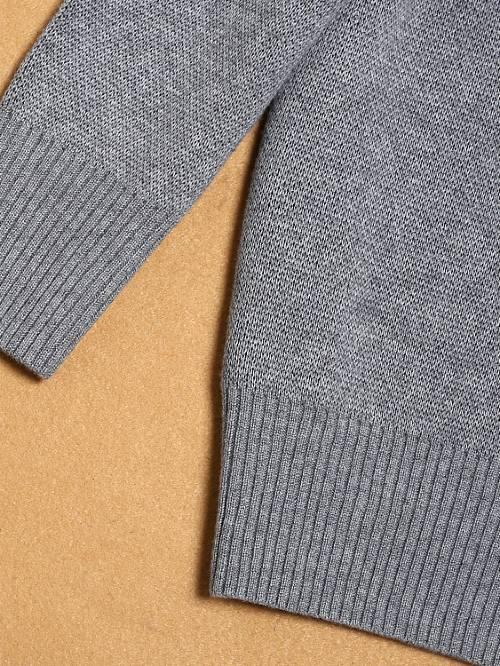 Chic Grey Sweater | Luhan – EXO