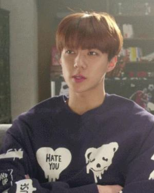 Blue Fancy Sweatshirt | Sehun – EXO