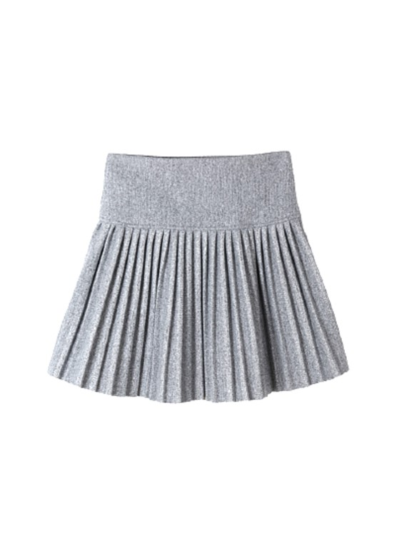 Gray Pleated Skort | IU