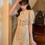 Beige Flower Dress   Jisoo – BlackPink
