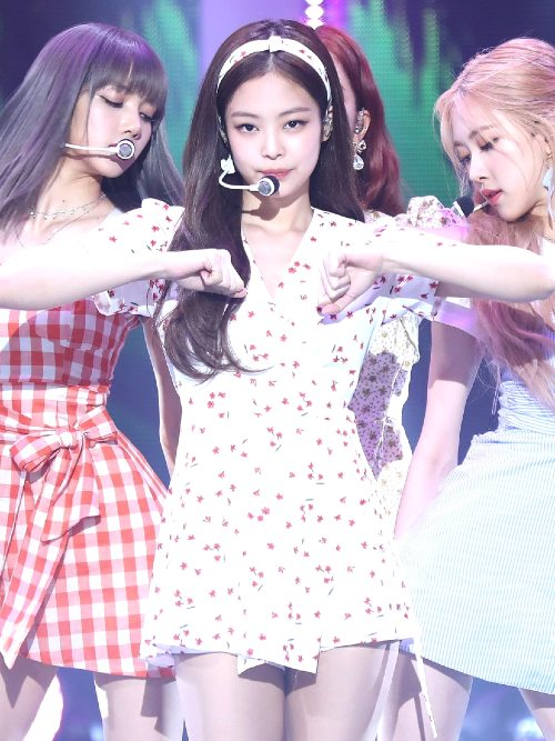 Beige Cherry Dress | Jennie – BlackPink