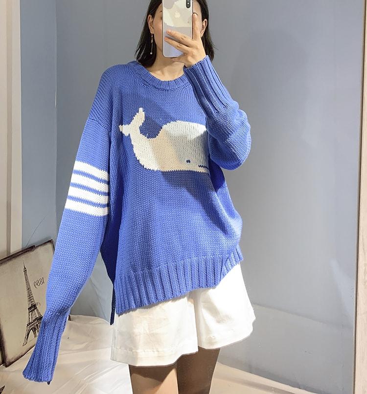 Blue Whale Sweater | Jin BTS