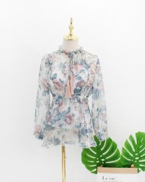 Jennie Flower Blouse (8)