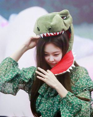 Green Star Dress | Jennie – BlackPink