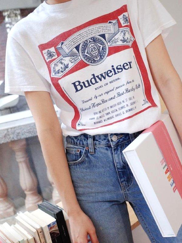 Budweiser T-Shirt | Hyuna