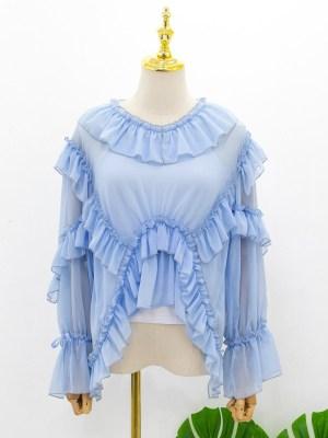red-velvet-irene-blue-long-sleeve-ruffle-blouse
