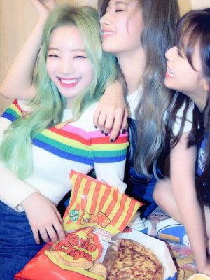 Rainbow Crop Sweater | Dahyun – Twice