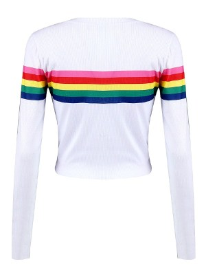 twice-dahyun-rainbow-crop-sweater