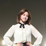 White Shirt With Black Silk | Jihyo – Twice