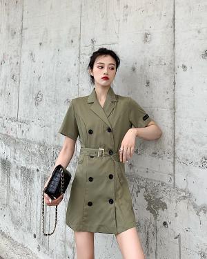 Hyuna Army Dress (4)
