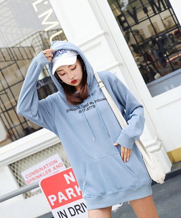 Blue Unicorn Rainbow Hoodie   Jennie – BlackPink