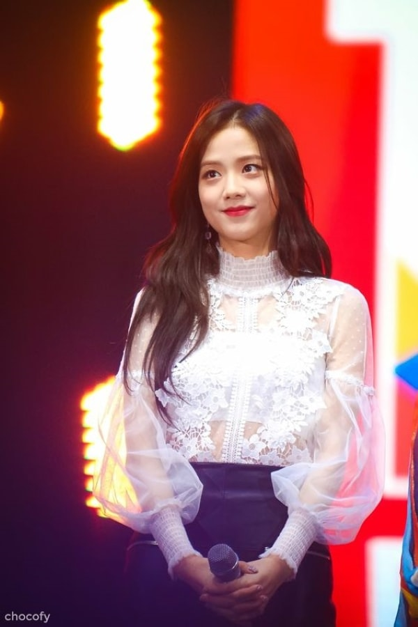 See-through Lace Blouse | Jisoo – BlackPink