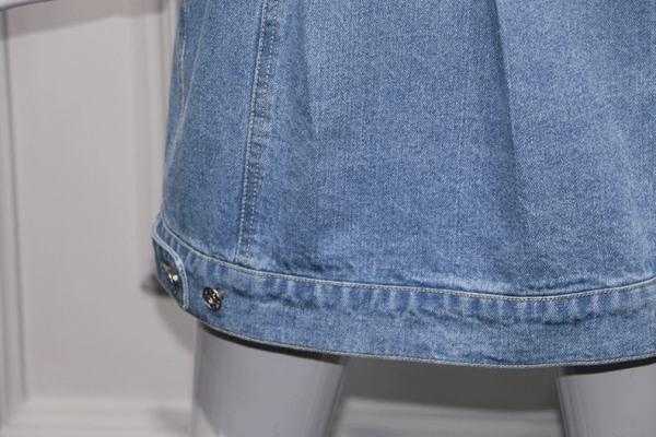 Waist Tight Denim Dress   Lisa – BlackPink