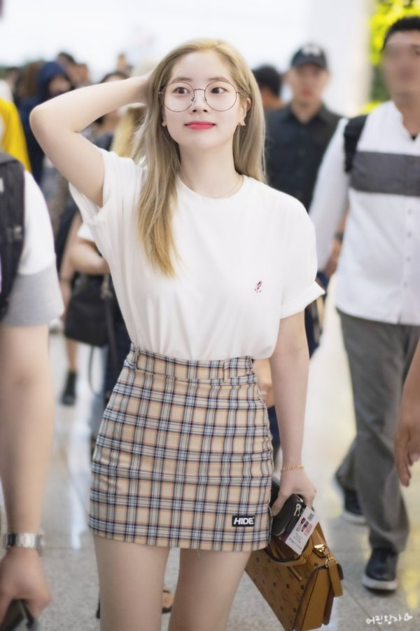 Plaid Skirt | Dahyun – Twice