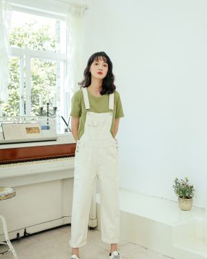 Hong Seol Jeans Jumpsuit Cheese in the Trap (14)