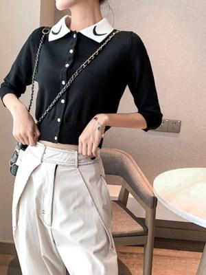 Hyuna Moon Polo Collared Shirt (10)