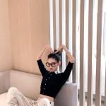 Moon Polo Collared Shirt | Hyuna
