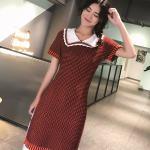 Doll Collar Red Dress | Irene – Red Velvet