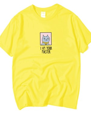 Jin Cat I Am Your Master T-Shirt (3)