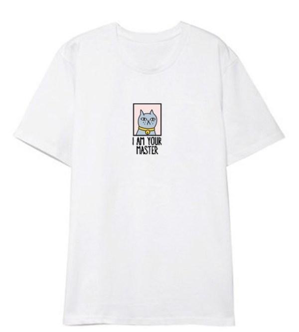 Cat I Am Your Master T-Shirt | Jin – BTS