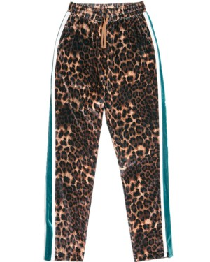 Momo Leopard Print High Waist Pants (1)