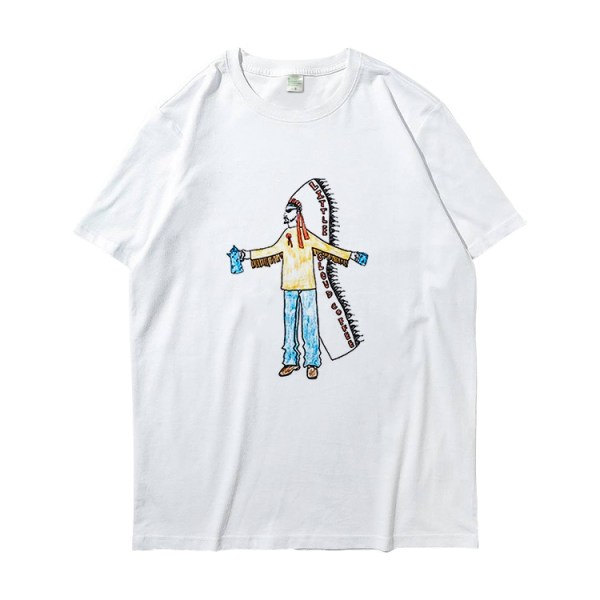 Native Indian Cartoon T-Shirt | RM – BTS