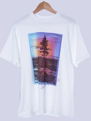 RM Tree Portrait Print T-Shirt (1)