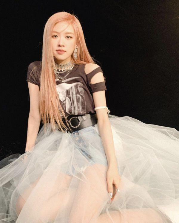 Denim Tulle Skirt | Rose – BlackPink