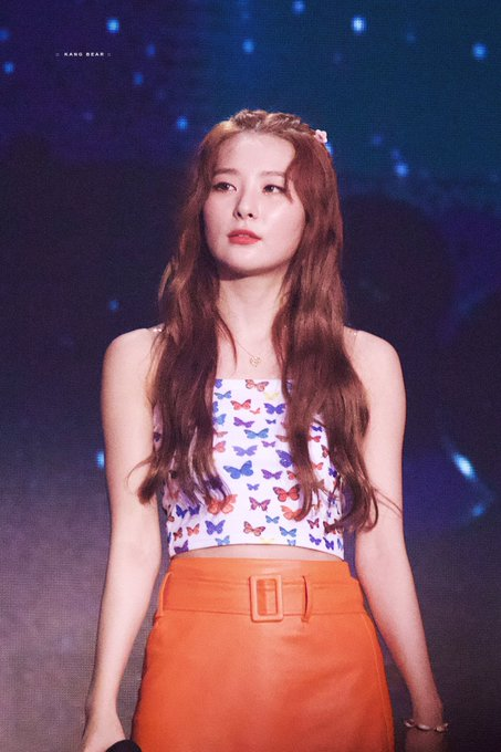 Butterfly Tube Crop Top | Seulgi – Red Velvet