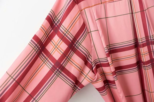 Pink Plaid Shirt Dress | Shuhua – (G)I-DLE
