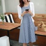 Blue Plaid Sleeveless Dress | Yeri – Red Velvet