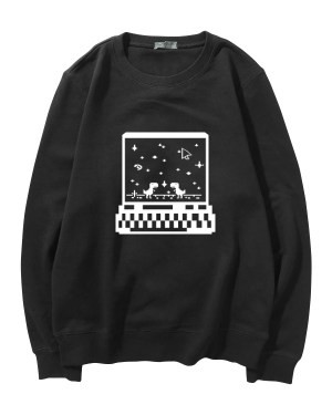 Haechan Retro Style Sweater (2)