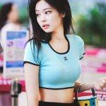 Rib Knit Crop Top | Jennie – BlackPink
