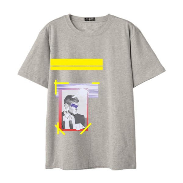 Framed Eye Covered Man T-Shirt | Johnny – NCT