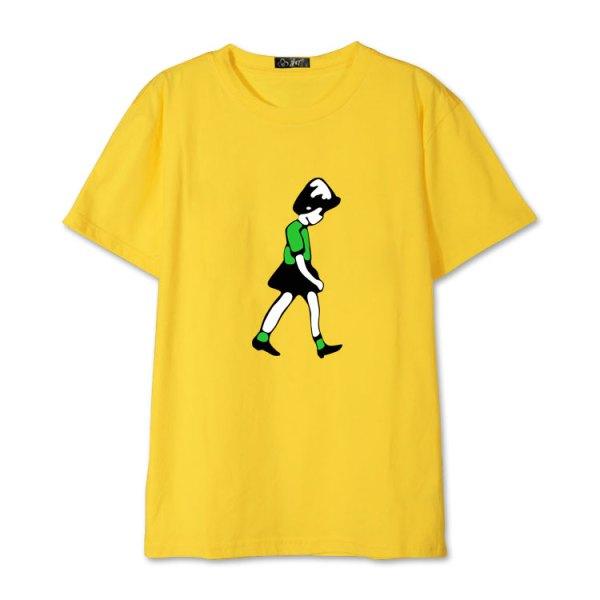 Cartoon Girl Print T-Shirt | Mark – NCT