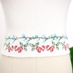 Floral Square Collar Crop Top | Rose – BlackPink