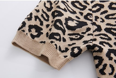 Leopard Spots Print Top | Seulgi – Red Velvet