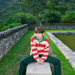Long Sleeved Striped Sweatshirt | Taehyung -BTS