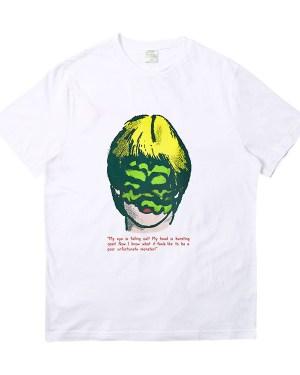 Taeyong Blonde Eye Covered Monster Girl T-Shirt