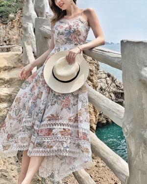 Tzuyu Floral Print Maxi Dress (9)