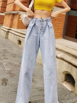 Jennie Wide Legged Jeans (4)