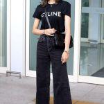 Black Wide Legged Jeans | Lisa – BlackPink