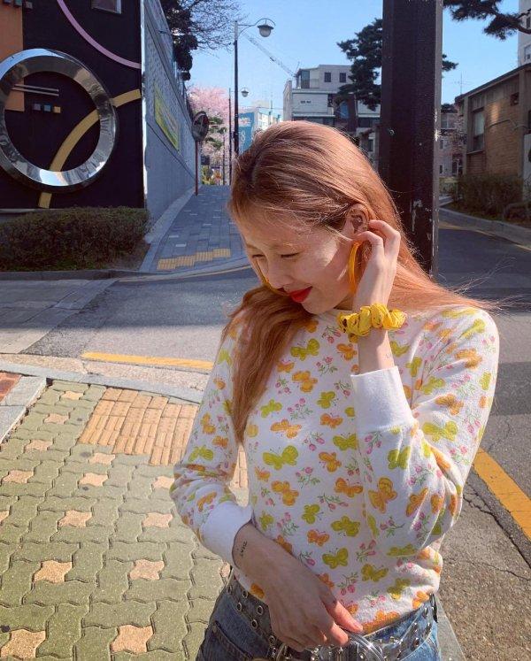 Butterflies Sweater | Hyuna