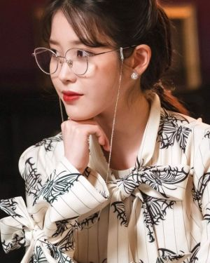 Butterfly Print Dress | IU – Hotel Del Luna
