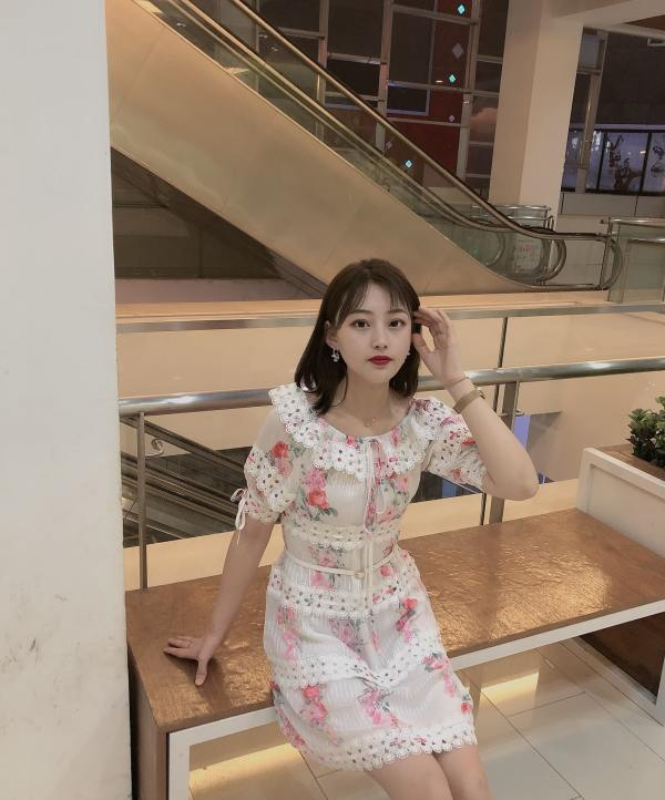 Ruffled Flower Dress | IU – Hotel Del Luna