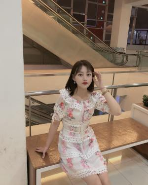 IU Ruffled Flower Dress (12)