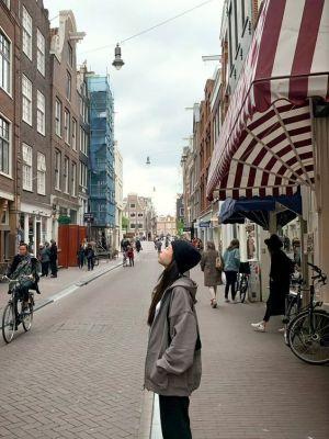 Amsterdam Grey Cardigan| Jennie – BlackPink