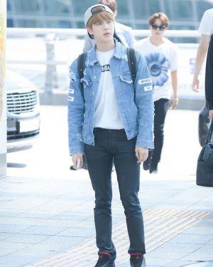 """Where Is My Mind"" Jeans Jacket | Jin – BTS"